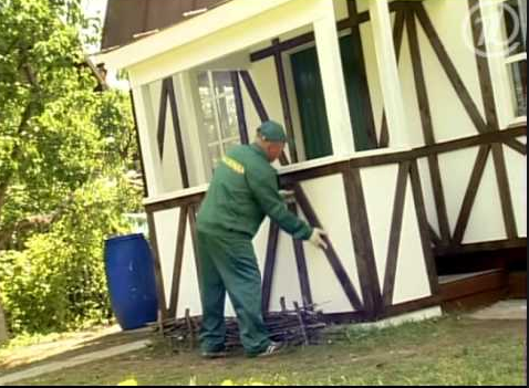 Фасад в немецком стиле своими руками